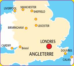 Carte Londres Angleterre.Combine Londres Ecosse Vels Voyages